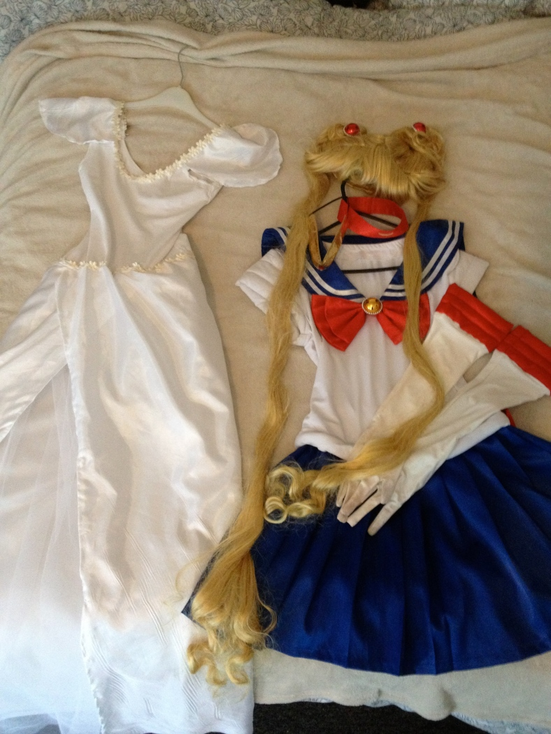 Sailor Moon and Rei